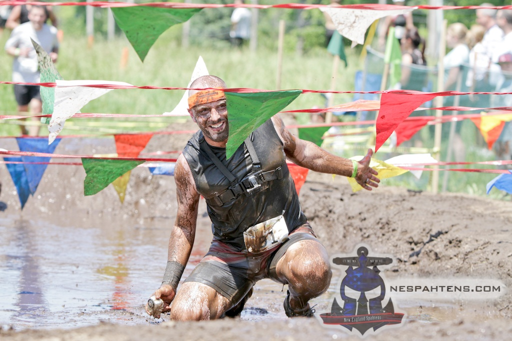Paul in the Hopin' Mad Mud Run mud pit