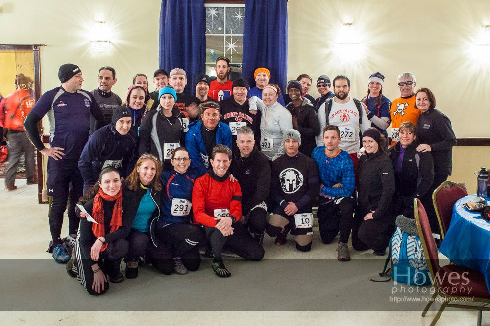 New England Spahtans at Blizzard Blast