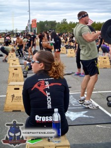 The Pit judges were from Crossfit Revenge - and were awesome!