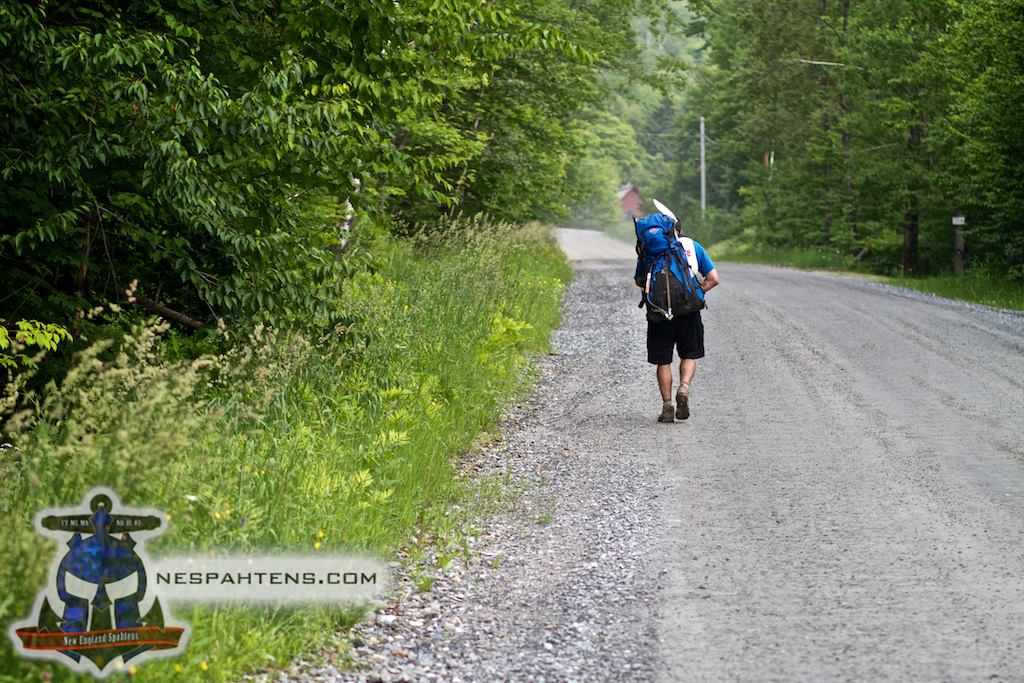 Countless miles of walking ...