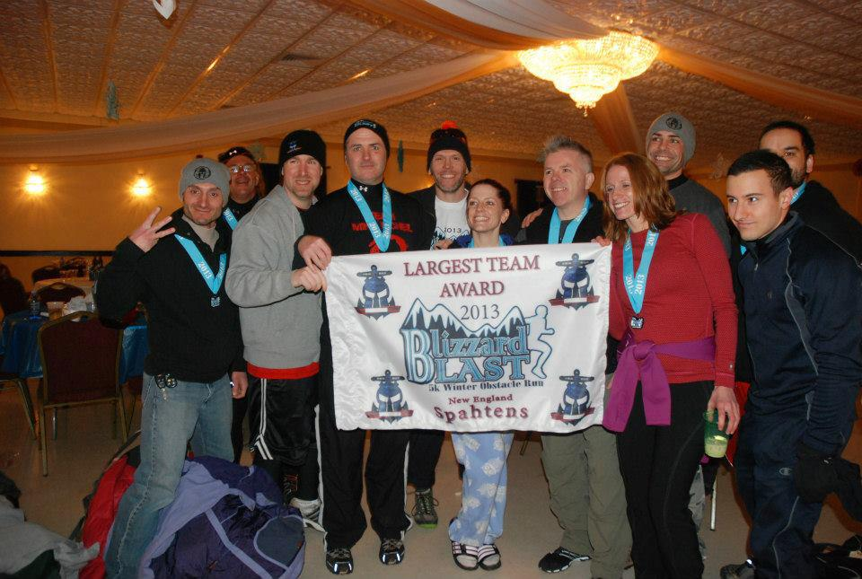 Team Mike McNeil and the New England Spahtens at Blizzard Blast 2013