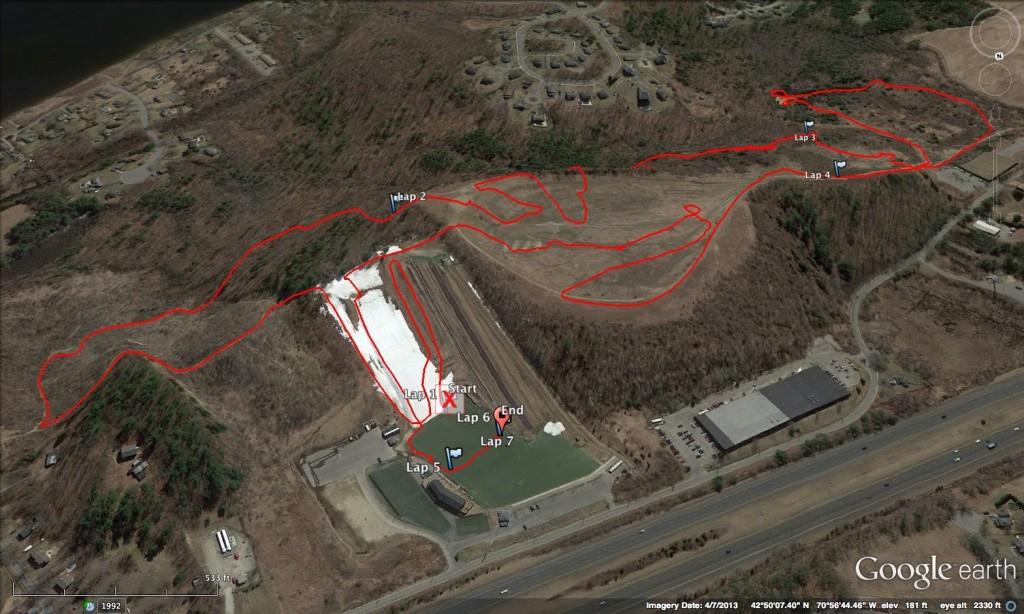 GPS Data: http://connect.garmin.com/activity/515816619