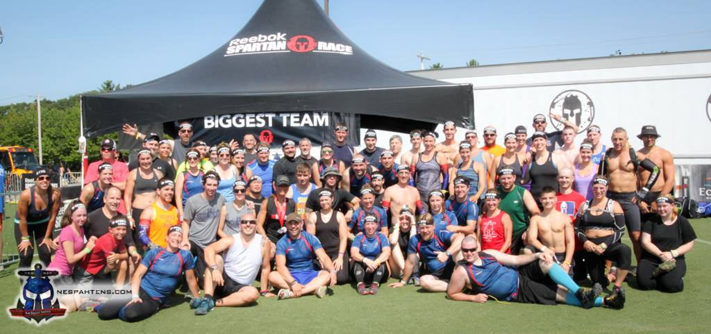 Sundays biggest team (plus volunteers on the course!)