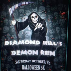 Diamond Hill's Demon Run logo