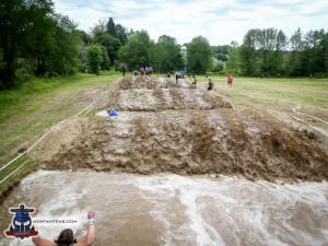 Rolling mud on Saturday