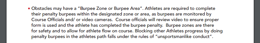 "Excerpt from the current Spartan Race Rule Book (dated 2014!) - does this sound like it's applicable to Open waves?"" width=""708"" height=""141"" /> Excerpt from the current Spartan Race Rule Book (dated 2014!) - does this sound like it's applicable to Open waves?"