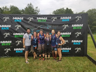 NES Ninjas Savage Race finish photo